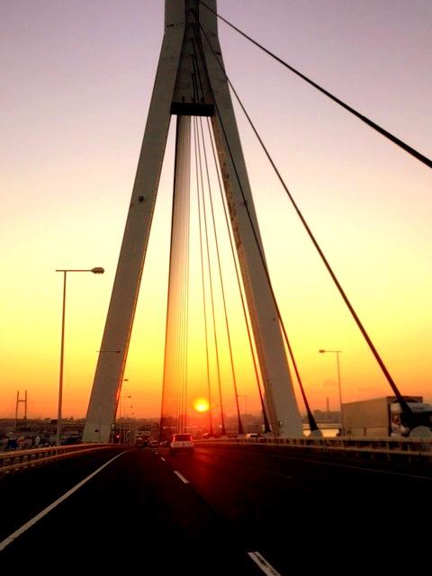つばさ橋サンセット♪_c0294909_1745678.jpg
