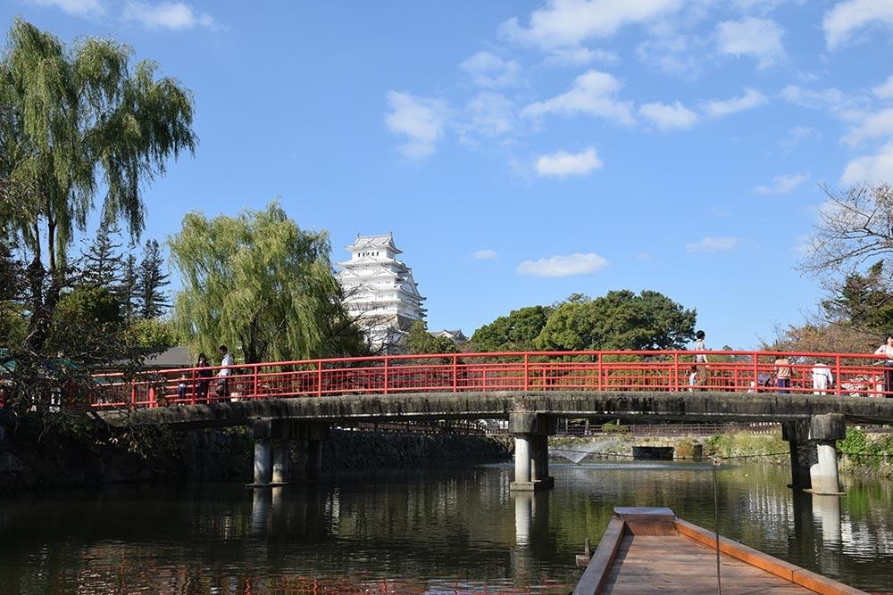 白鷺の天守閣がよみがえった姫路城を歩く。 その8 ~内堀~_e0158128_21113553.jpg