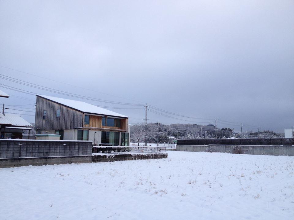 長久手の家の雪景色_d0027290_6265531.jpg