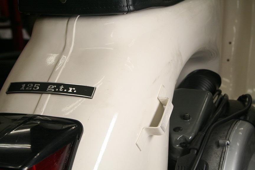 完成間近 Vespa 125gtr フルレストア販売車両_b0117797_21542041.jpg