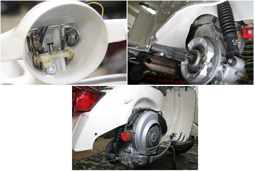 完成間近 Vespa 125gtr フルレストア販売車両_b0117797_22161970.jpg