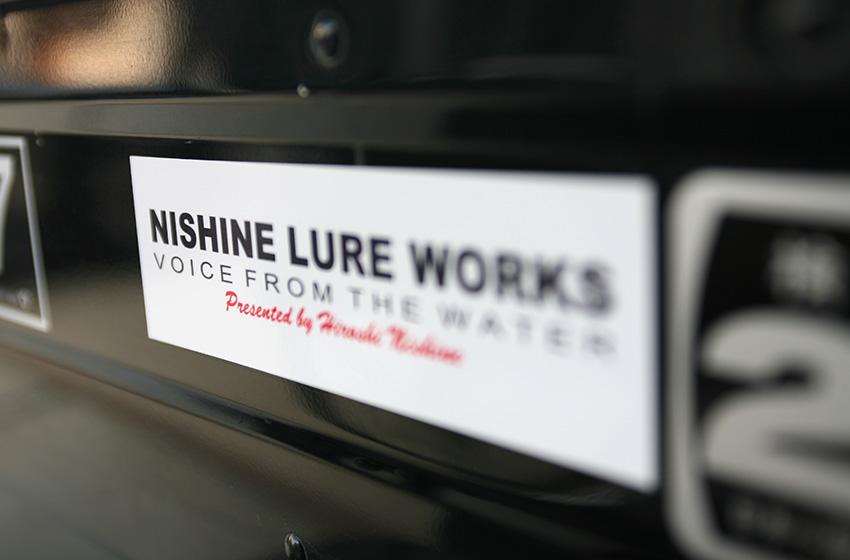 キープキャスト告知その1 【NISHINE LURE WORKS ロゴステッカー】_d0145899_23273878.jpg