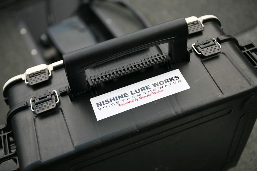 キープキャスト告知その1 【NISHINE LURE WORKS ロゴステッカー】_d0145899_23371172.jpg
