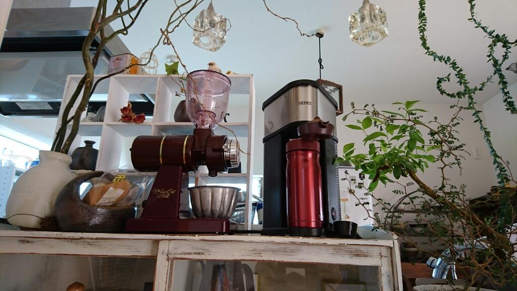会社に持参のコーヒーは。_b0093515_17240345.jpg