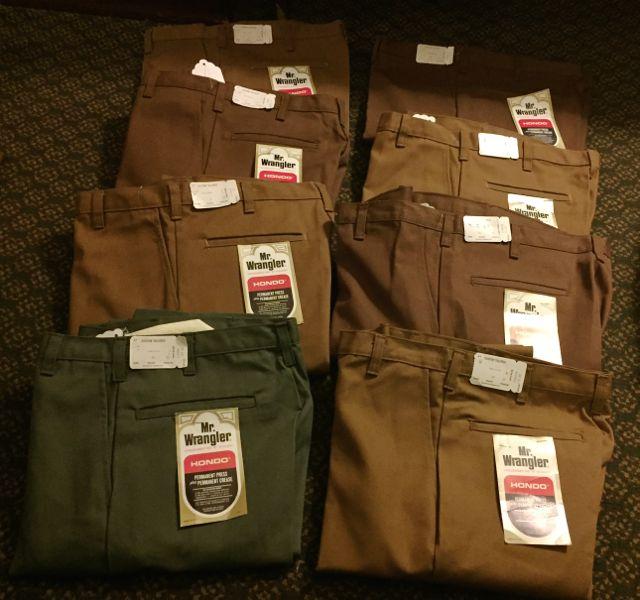 デッドストック!60s~Mr. Wrangler all cotton IVY  pants !!_c0144020_16222074.jpg