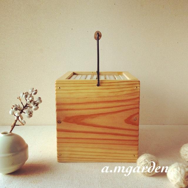 木製CDボックス。_b0125443_14203838.jpg
