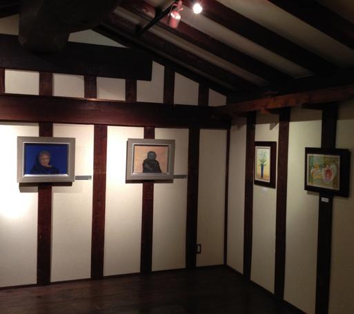 『第四回・蔵織日本画塾作品展』2月11日より始まりました_d0178448_23254947.jpg