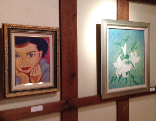 『第四回・蔵織日本画塾作品展』2月11日より始まりました_d0178448_2326648.jpg