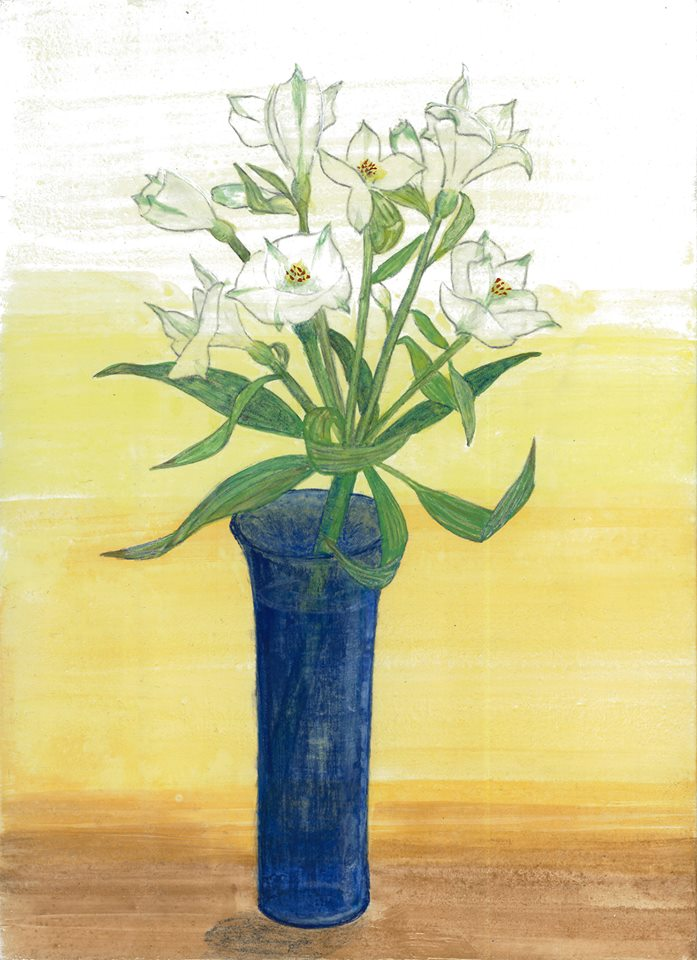 『第四回・蔵織日本画塾作品展』2月11日より始まりました_d0178448_23271422.jpg