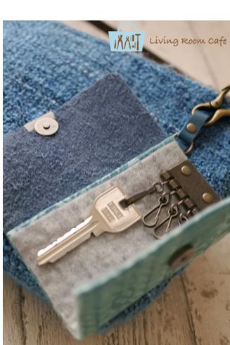 縫わないキーケース 三つ折りスタイル_e0040957_18235784.jpg