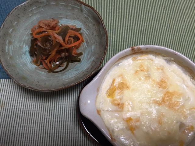 豆腐と白菜のグラタン_b0093660_1783683.jpg