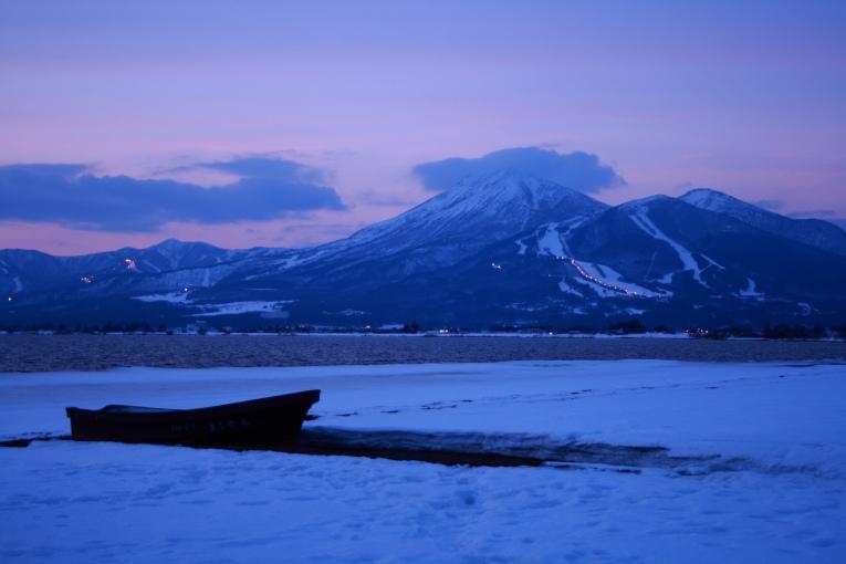 猪苗代湖 冬景色 その2_e0165983_15355729.jpg