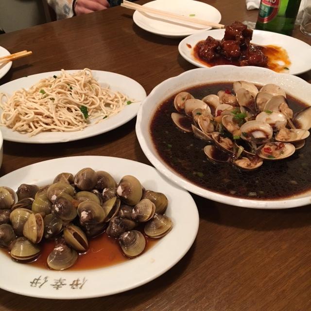 上海小吃でゲテものパーティな夜_e0230090_23165776.jpg