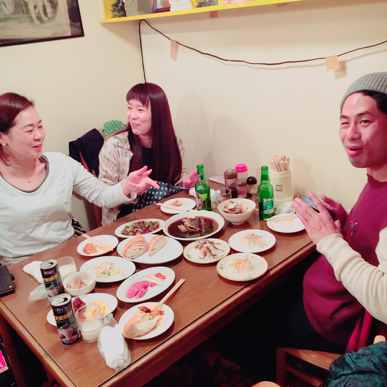 上海小吃でゲテものパーティな夜_e0230090_23172819.jpg