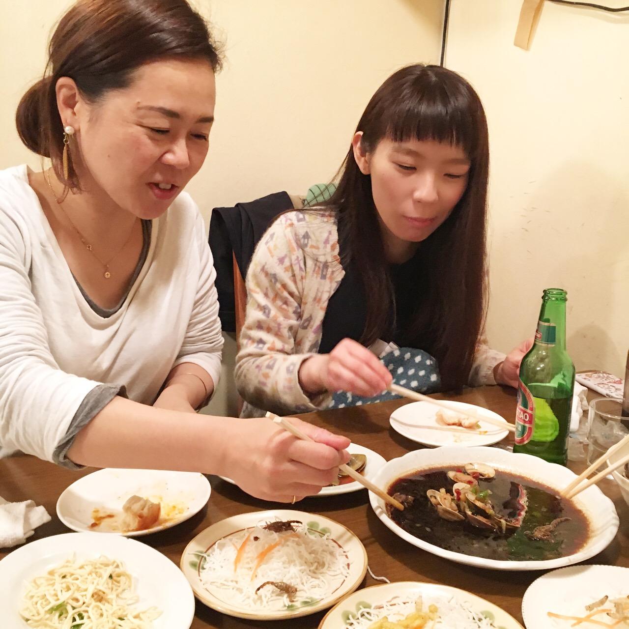 上海小吃でゲテものパーティな夜_e0230090_23173974.jpg