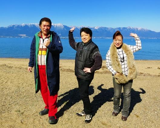 珍道中三人旅・雪の琵琶湖から京都嵐山へ_b0083801_126439.jpg