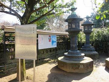 上野東照宮の銅燈籠_c0187004_09425151.jpg