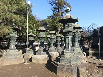 上野東照宮の銅燈籠_c0187004_09442713.jpg