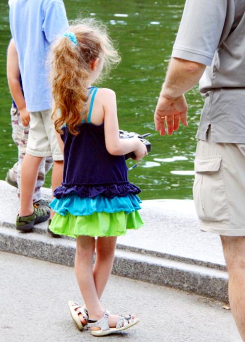 セントラルパークで模型ヨット遊びのできる池 Conservatory Water_b0007805_21295832.jpg