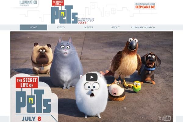 そっくりペット写真大会?!になりつつある映画「The Secret Life of Pets」のFacebook_b0007805_2171232.jpg