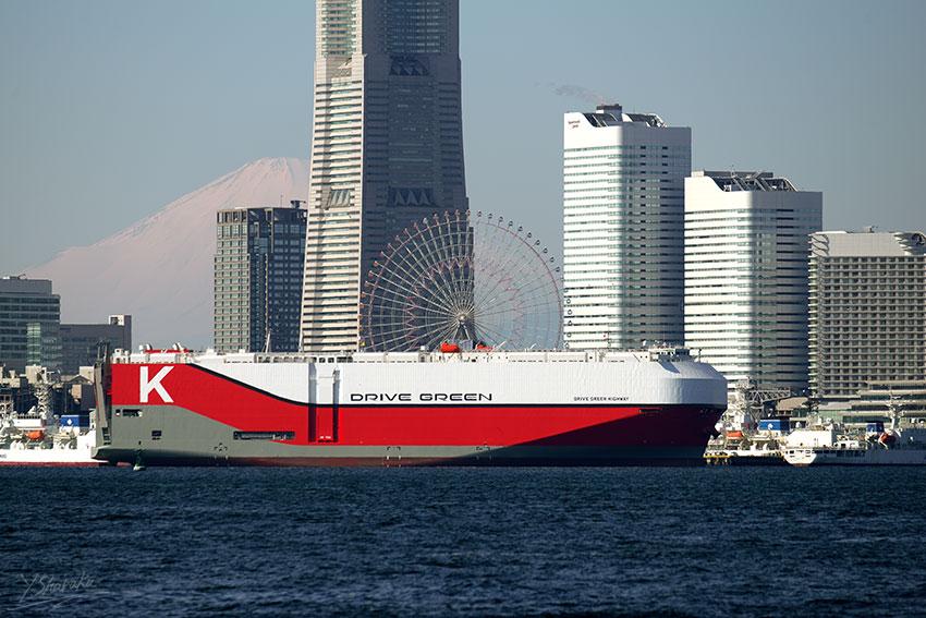 川崎汽船 DRIVE GREEN HIGHWAY N...