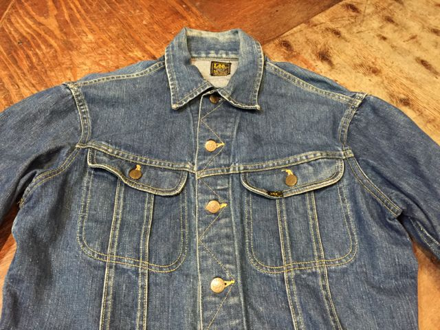 2月13日(土)入荷! Lee 101-J Denim JKT!_c0144020_1636263.jpg