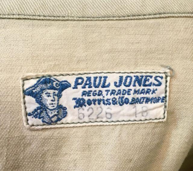 2月13日(土)入荷!20~30s PAUL JONES プルオーバーシャツ!_c0144020_1946510.jpg