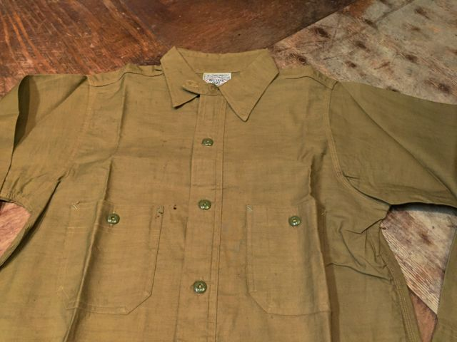 2月13日(土)入荷!30s デッドストック BIG YANK チンストシャツ!メタルボタン、オールコットン!_c0144020_20443348.jpg