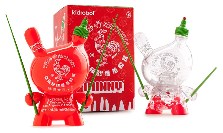 Sketracha Solid & Clear 3 inch Dunny by Sket-One_e0118156_1112296.jpg