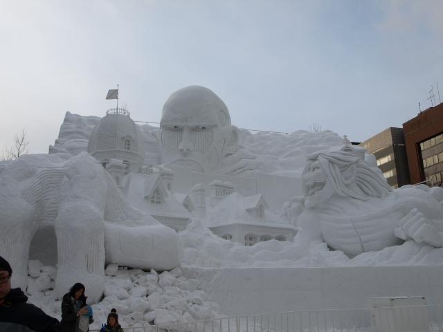 さっぽろ雪まつり 市民雪像など色々_d0153062_855219.jpg