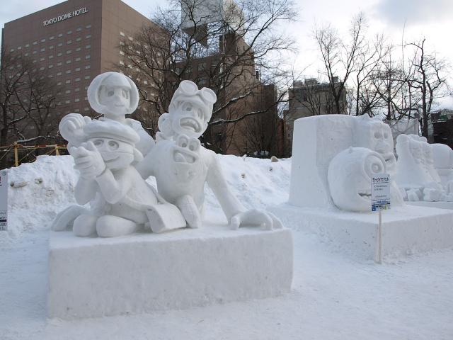 さっぽろ雪まつり 市民雪像など色々_d0153062_873786.jpg