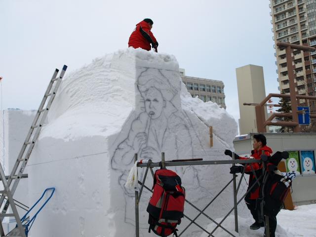 さっぽろ雪まつり 市民雪像など色々_d0153062_881837.jpg