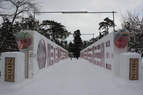 今年も弘前城雪燈籠まつりが開幕しました!_d0131668_13191094.jpg