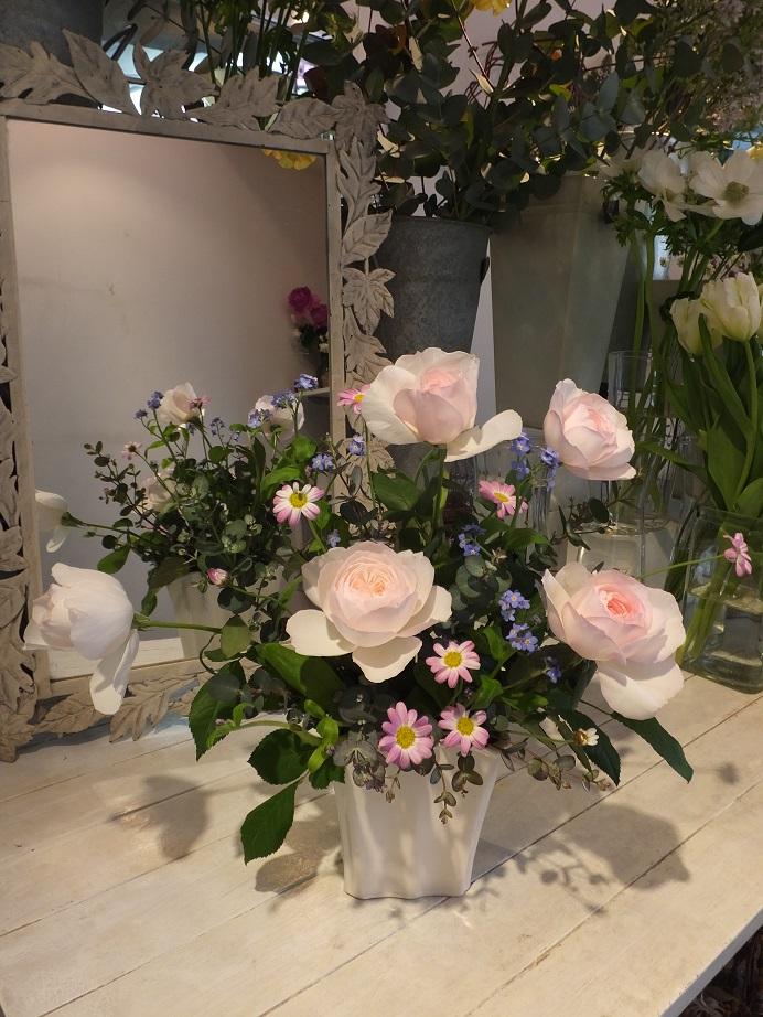 オークリーフ花の教室(本間さんの作品)_f0049672_1818947.jpg