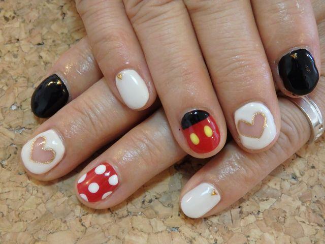 Disney Nail_a0239065_12271185.jpg