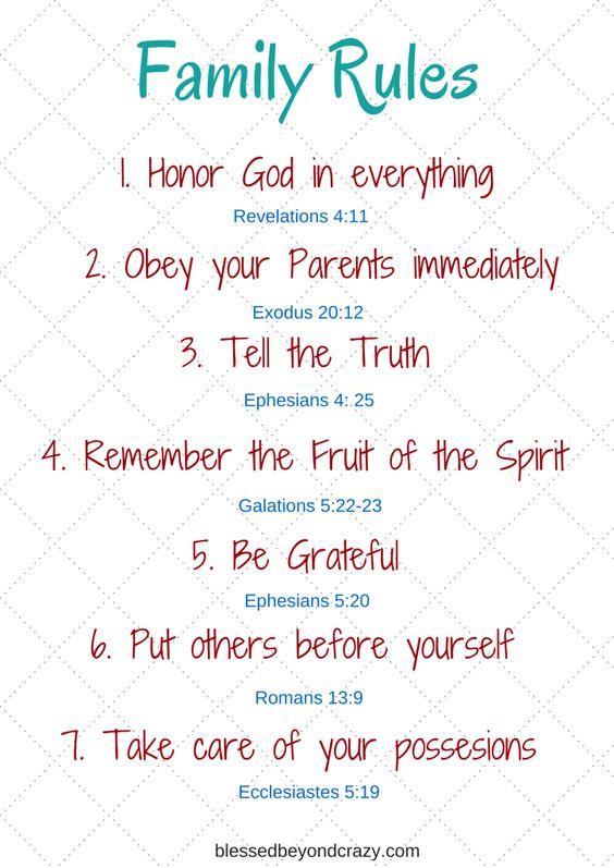 聖書が教える「7つのファミリールール」_f0234165_15162597.jpg