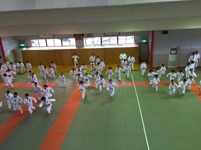宇美道場での合同練習_b0172494_13411809.jpg