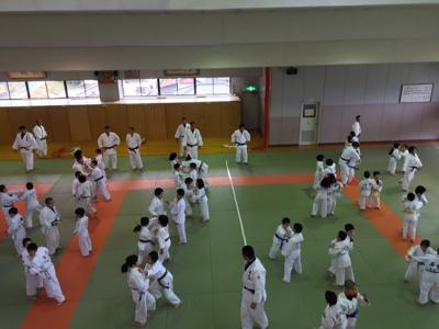 宇美道場での合同練習_b0172494_13411824.jpg