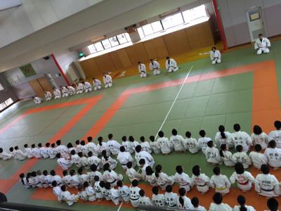 宇美道場での合同練習_b0172494_13411839.jpg
