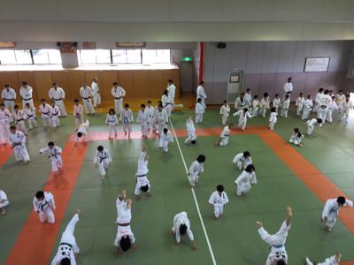 宇美道場での合同練習_b0172494_13411861.jpg
