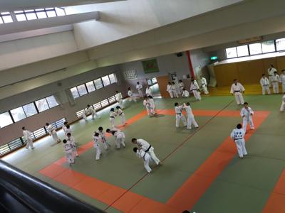 宇美道場での合同練習_b0172494_15024526.jpg