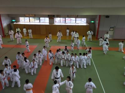 宇美道場での合同練習_b0172494_15024685.jpg
