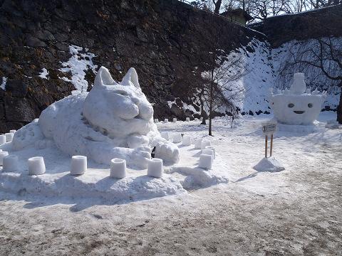盛岡「雪あかり」_b0074601_22411779.jpg