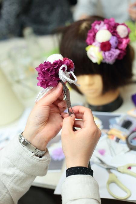 2月14日 単発レッスン 手作りの花の教室 次回3月21日です_a0042928_22595919.jpg
