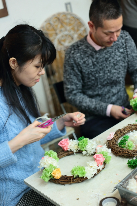 2月14日 単発レッスン 手作りの花の教室 次回3月21日です_a0042928_2333928.jpg
