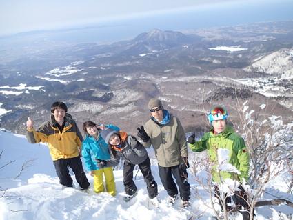 2/11 大山スキー_b0077448_2132720.jpg