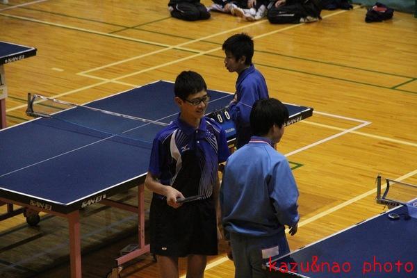 長男の卓球の試合_d0162048_17503268.jpg