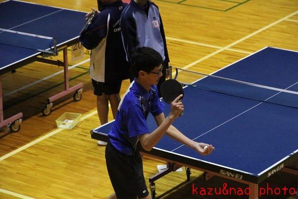 長男の卓球の試合_d0162048_17515344.jpg