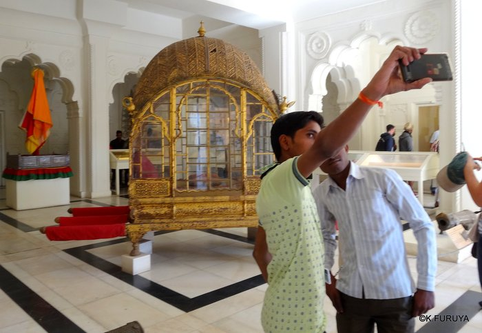 インド・ラジャスタンの旅 6 メヘラーンガル砦 その2_a0092659_2033019.jpg