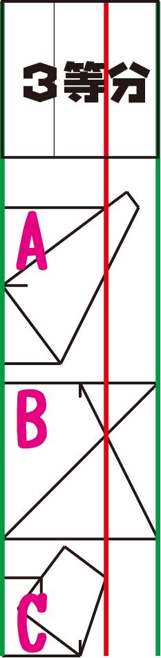 6等分折りのために…3等分の気づき_f0213891_13213842.png